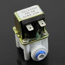 Electric Solenoid Valve  DC 12V For Water Purifier Refrigerator Normally Closed