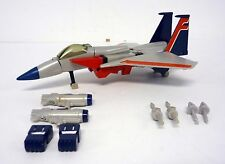TRANSFORMERS STARSCREAM Vintage G1 Action Figure Jet NEAR COMPLETE 1984
