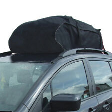 Universal Car Roof Cargo Carrier Car Roof Bag Baggage Waterproof Travel Black