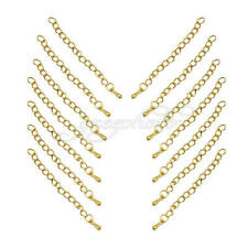Jewelry Extension Chain Tail Extender For Necklace Bracelet Making Craft DIY 20x