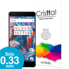Protector de Pantalla CRISTAL TEMPLADO Premium OnePlus 3 - SENTETE -