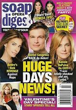 Days of Our Lives, Jen Lilley & Eric Martsolf - Feb. 15, 2016 Soap Opera Digest
