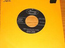 """JAZZ 45 RPM - QUINCY JONES - MERCURY 71425 - """"THE SYNCOPATED CLOCK"""""""