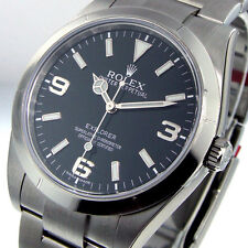 UNWORN ROLEX 214270 EXPLORER l STEEL 39 mm BLACK DIAL