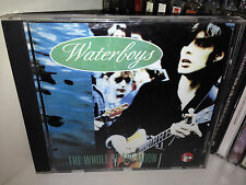 The Waterboys ‎The Whole Of The Moon Rare Cd Van Morrison Medley