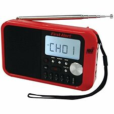 NEW First Alert Weather Radio - Red/Black (SFA1100)