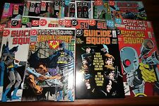 Suicide Squad #1 - 51 Run  42 book Set 1st print Lot