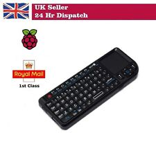 Wireless Miniature USB Keyboard with Touchpad for the Raspberry Pi