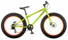 "Mongoose Talos 24"" Fat Tire Bicycle, 14""/One Size, Green"