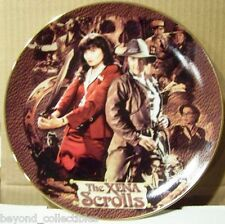 "XENA LIMITED EDITION COLLECTOR CHINA PLATE - ""XENA SCROLLS"" #79 OF 300"