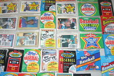 Huge lot of unopened baseball card packs !!