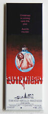 Silent Night Evil Night FRIDGE MAGNET (1.5 x 4.5 inches) movie poster christmas