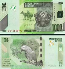 CONGO DEMOCRATIC REPUBLIC 1000 - 1,000 FRANCS 2013 UNCIRCULATED P.101
