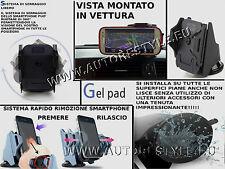 AERO GEL PAD SUPPORT VOITURE SMARTPHONE GALAXY IPHONE MÊME SUR SURFACES
