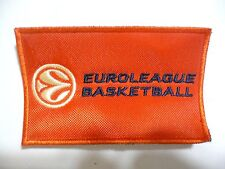 TURKISH AIRLINES EUROLEAGUE BASKETBALL VINTAGE ORANGE PATCH UNUSED VERY NICE!
