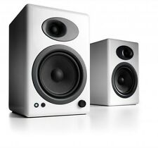 Audioengine A5+ Premium Powered Active Speakers (PAIR) Gloss White - NEW