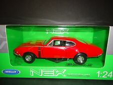 Welly Oldsmobile 442 Red 1/24