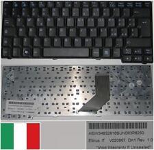 Clavier Qwerty Italien LG E200 E300 E210 ED310 V020967 DK1 AEW34832816 Noir