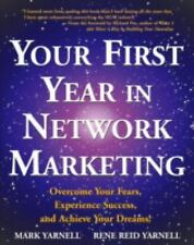 Your First Year in Network Marketing Mark Rene Yarnell paperback FREE SHIPPING