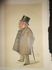 Original Victorian Vanity Fair Ape Print: Mr Henry Hansard - November 29th 1884