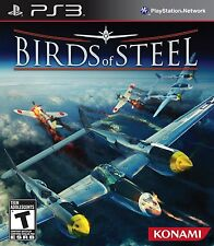 PLAYSTATION 3 PS3 GAME- BIRDS OF STEEL -  NEW & FACTORY SEALED