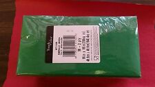 "CHRISTMAS/PARTY GREEN 2 PLY DINNER NAPKIN 16"" x 16"" 1/8 FOLD ( 50 PER PACK ) USA"