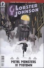 Lobster Johnson Metal Monsters of Midtown #1 (of 3)   NEW!!!