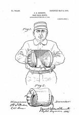 Baseball Glove - Copy of Patent dated 1905