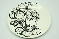 "Gien France Creation Val D'Or  Tomatoes Tomato 9 1/8"" salad dessert plate"