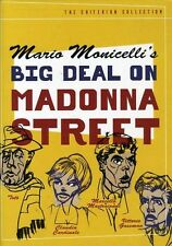 Big Deal on Madonna Street [Criterion Collection] (2001, DVD NEUF)
