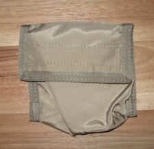 eagle industries nylon velcro pouch tan khaki belt slip pocket GP utility 4x4x1