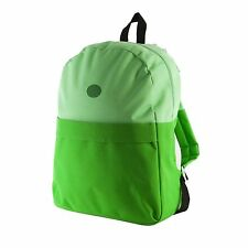 Adventure Time Green Finn's Backpack School Bag with Hat Shoulder Bag Backpack