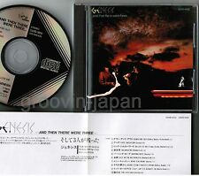 GENESIS And Then There Were 3 JAPAN CD 32VD-1015 1986 1st issue BLACK TRIANGLE