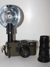 "Graflex 70mm US Army Combat-70 Graphic KE-4. Nice outfit with case and 8"" lens."
