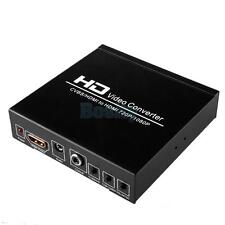 AV / CVBS / HDMI to HDMI 720P/1080P Full HD Video Converter Support PAL/NTSC