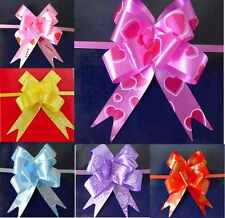 50 Large Pull Bow Ribbons All Mix Colors for any Celebration