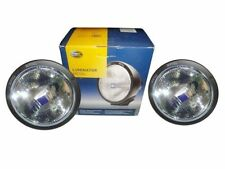 Pair Of Hella 4000 Rallye Black Metal Luminator - Driving Spot Light - Offroad