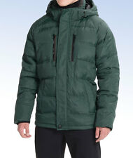 HAWKE & Co Men's CLARKSON Down Parka 750 Fill Jacket - Pine Green - Large