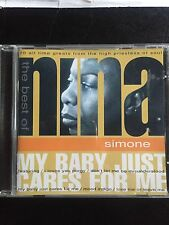 The Best Of Nina Simone My Baby Just Cares For Me Used 20 Track Jazz Cd