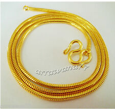 Classy 22K 24K THAI YELLOW GP GOLD NECKLACE Jewelry N7