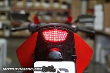 2008-2012 Kawasaki Ninja 250R EX250 SEQUENTIAL Turn Signal LED Tail Light SMOKE