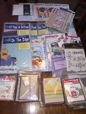 Huge Lot Scrapbooking Kits, Cards, Stickers, Protective Sleeves & Paper