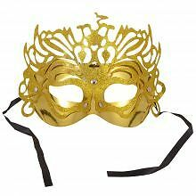 Face Mask - Golden Party Mask