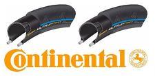 Continental Ultra Sport II Folding Bike Tire Pair Blue 700x25c