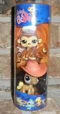 Littlest Pet Shop HALLOWEEN TUBE ANGEL Monkey halo 1080 COWGIRL Pony 1081 HTF