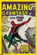 MARVEL COMIC BOOK COVER AMAZING FANTASY SPIDERMAN POSTER NEW 24x36 FREE SHIP