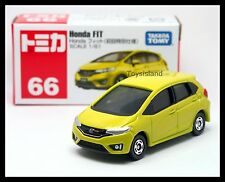 TOMICA #66 HONDA FIT JAZZ 1/61 TOMY 2015 MAY NEW MODEL First Edition Color