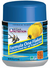 Food for fish marine Ocean nutrition Formula one marine flakes flakes