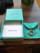 Genuine Tiffany 1837 Argento Sterling Anello