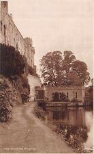 WARWICK UK CASTLE Façade VIEW JUDGES PHOTO PICTURE #1198 POSTCARD 1910s